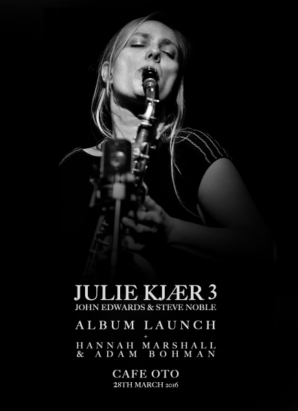 Poster Julie Kjær 3-OTO 28th March '16